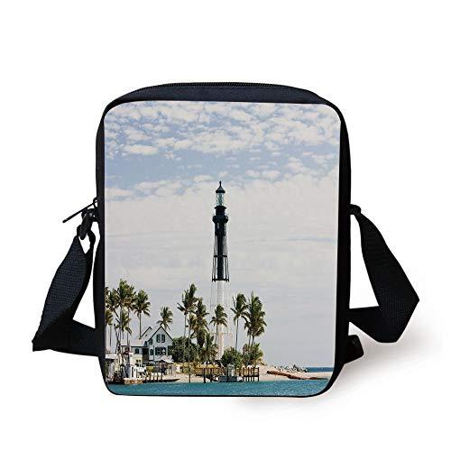United States,Hillsboro Lighthouse Pompano Beach Florida Atlantic Ocean...