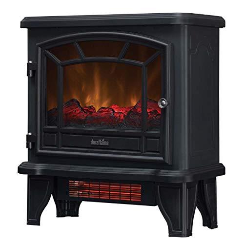 Duraflame Electric DFI-550-36 Infrared Quartz Fireplace Stove Heater, Black