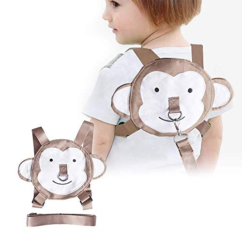 Toddler Harness Safety Leashes Monkey Walking Harness for Toddlers Age 2-3 Years Old