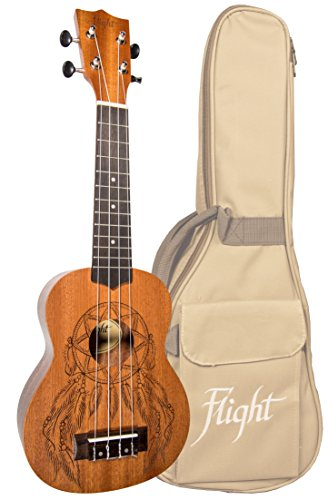 Flight Ukelele soprano NUS350 Dreamcatcher