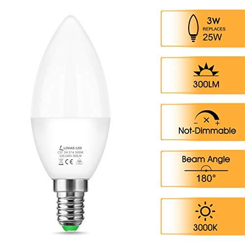 LOHAS-LED LH-LZ089-E14-3000K-6