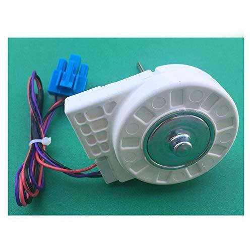 MAXIAOQIN MXQIN Congelador sin escobillas del Motor del Ventilador for la Puerta Doble Nevera Congelador Ventilador DLA5985XQEA DC10.4V 1.6W