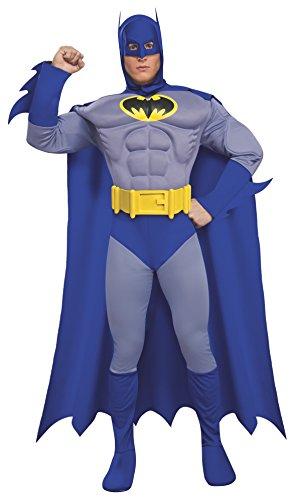 Rubie 's Offizielles Batman Deluxe, Erwachsene Kostüm–Medium