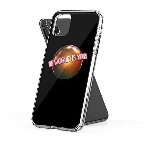The World is Yours (Scarface) Custodie per telefoni trasparenti Pure Cover TPU per Samsung/iPhone 12/11/X/XR/7/Xiaomi Redmi 9A/Note 9/10/8 Pro Custodie