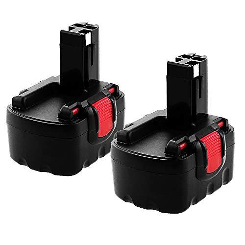 2 X DOSCTT Reemplazo para Bosch Batería 14,4V 3500mAh Ni-MH BAT038 BAT040 BAT041 BAT140 BAT159 2607335685 2607335533 2607335534 2607335711