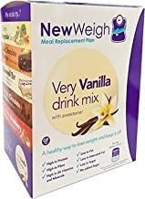 NewWeigh Very Vanilla Meal Replacement Shake 7 x 60g sachets – Suitable for Coeliacs Vegetarians – High Fibre High Protein Estimated Price : £ 11,25