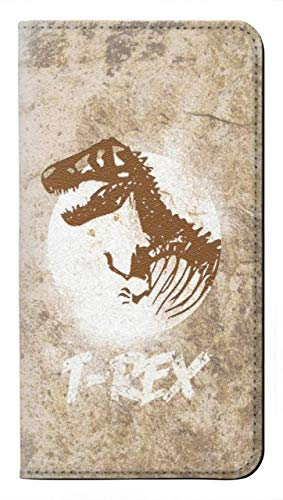 Innovedesire T-Rex Jurassic Fossil Flip Hülle Tasche Klappetui für Samsung Galaxy S20 FE