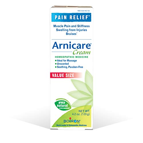 Boiron Arnicare Cream 4.2 Ounce (Pack of 1) Homeopathic Medicine for Pain Relief - 2 Pack