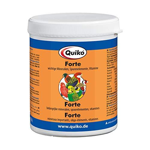 Quiko Forte 500g - Wichtige Mineralien, Spurenelemente & Vitamine für Ziervogel & Brieftauben