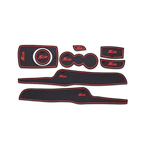 Porte Automatique Groove Pad Voiture Anti-poussière Porte Fente Coussins Intérieur de Voiture pour Ford Tapis décoration soignée Fiesta 09-14