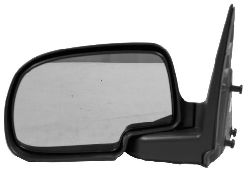 Sherman Replacement Part Compatible with Chevrolet-GMC Driver Side Mirror Outside Rear View (Partslink Number GM1320230)