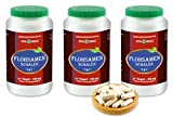 VITAIDEAL ® Flohsamenschalen (Plantago ovata Forssk) 3x360 Kapseln je 550mg, aus rein natürlichen...
