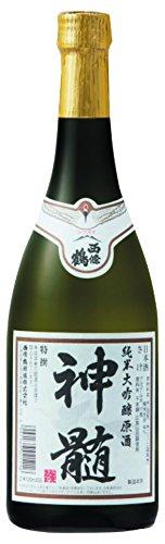 西條鶴醸造『西條鶴 神髄 純米大吟醸原酒』