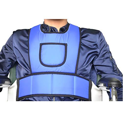 XER Verstärkt Kippschutz Rollstuhl Zurückhaltung Weste Rollstuhl Gurt Alten Gürtel gezwungen Bands zum Alten, Behindert, Behindert