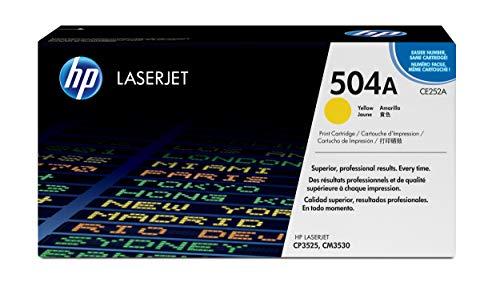 HP 504A | CE252A | Toner Cartridge | Yellow
