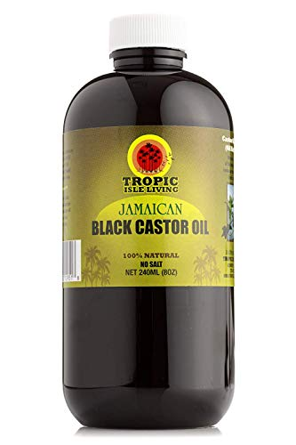 Tropic Isle Living - Jamaican Black Castor Oil - Plastic PET Bottle (8 ounce)