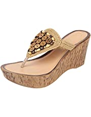 Catwalk Women's Cream Fashion Sandals