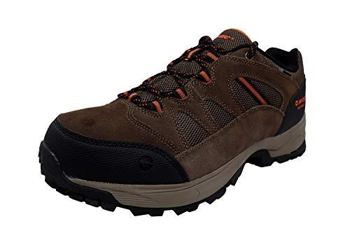 Hi-Tec Ridge Low Hiking Waterproof Shoes For Men, Brown, 11 M US