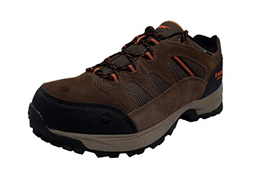 Hi-Tec Ridge Low Hiking Waterproof Shoes For Men, Brown, 10 M US