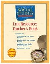 Houghton Mifflin Social Studies: Unit Resources Teacher's Book Grade 2 Neighborhoods