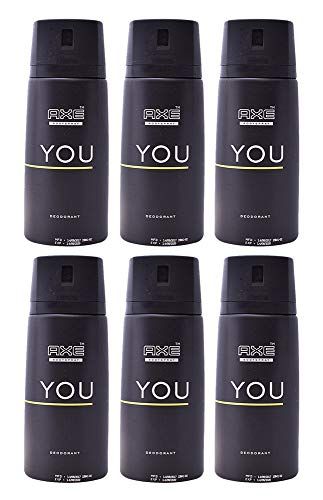 Axe Deodorant Body Spray You Mens Fragrance 150ml/5.07oz (6-Pack)