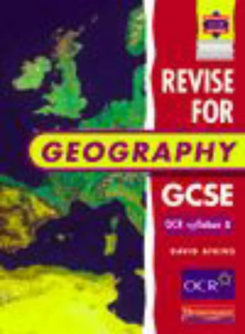Revise for Geography GCSE OCR Specification A Evaluation Pack
