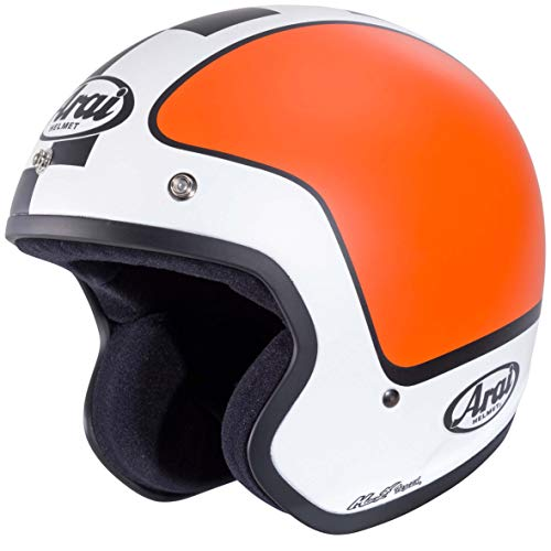 Jethelm Motorrad Custom Enduro Straße Arai freeway-ii Beat Größe S orange
