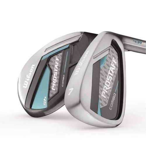 Wilson Staff Damen Golf Schlägersätze Pro Combo LRH GRA 5/6/7 SW, Schwarz Mint, One size