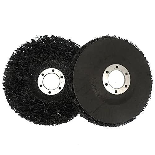 5Pcs Abrasive Diamond Grinding Wheel Disc Car Paint Metal Polishing Disc Buffing Polishing Craft For 115mm Angle Grinder-Black