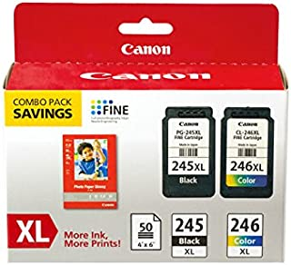 CNM8278B005 - Canon 8278B005 PG-245XL/CL-246XL Ink amp; Paper Combo Pack
