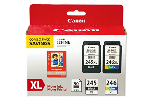 CNM8278B005 - Canon 8278B005 PG-245XL CL-246XL Ink amp; Paper Combo Pack