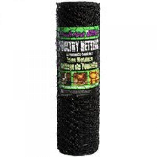 Jackson Wire 1X24'X50' Vnyl Poultry Netting 12012329