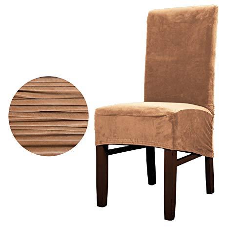 TAYINIO Imitation Silber Fuchs Stoff XL Größe Stuhlabdeckung große Größe Lange Rücksitzbezüge für Restaurant Hotel Party Bankett Wohnkultur