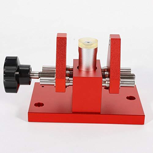 Abridor de caja de reloj Herramientas de reparación de reloj, abridor de reloj abrepuertas abatible para caja de reloj, extractor acoplable para caja de reloj