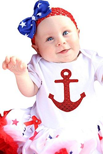 Petitebelle - Body - Bébé (fille) 0 à 24 mois Blanc blanc/rouge - Blanc - M