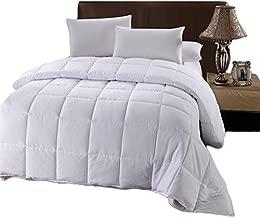 Royal Hotel Oversized Queen Down-Alternative Comforter - Duvet Insert, 100% Down Alternative Fill, Oversized Queen - White