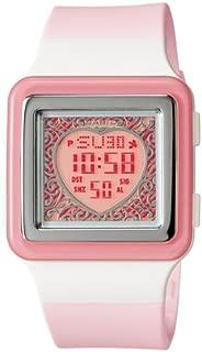Watch for Girls by Casio, Digital, Resin, Pink, LDF-21-4AV
