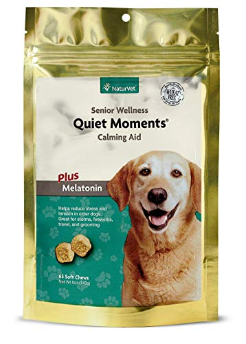 Quiet Moments Calming Aid Soft Chew Supplement for Senior Dogs
