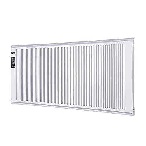 JCX elektrische convectie-wandverwarming met thermostaat, instelbare afstandsbediening en veiligheidsinstellingen, compact en vrijstaand design, 600-2200W