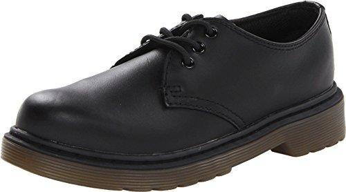 Dr. Martens Unisex Kids' Everley Softy T Black Boat Shoes