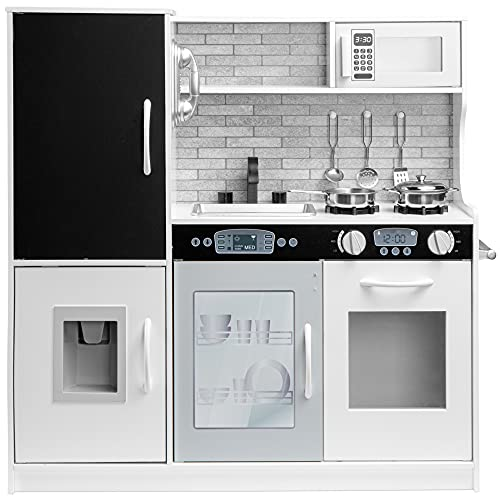 Best Choice Products Pretend Play Kitchen Wooden...
