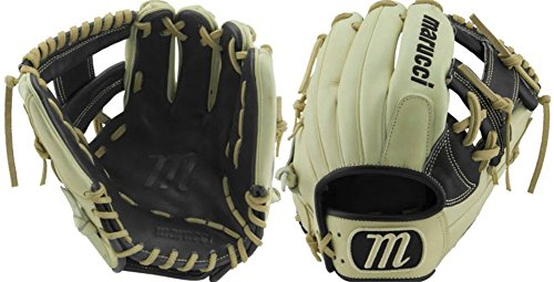"Marucci MFGFS1125I Founders' Series Baseball Fielding Gloves, Camel/Black, 11.25"""