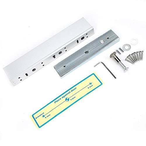 Cerradura electromagnética exquisita, duradera cerradura magnética, 280 kg, cierre magnético eléctrico, puerta...