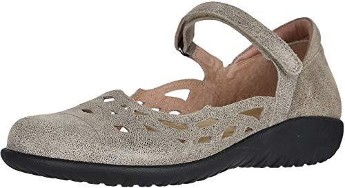 NAOT Footwear Women's Agathis Maryjane Speckled Beige Lthr 8 M US