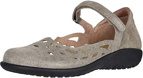NAOT Footwear Women's Agathis Maryjane Speckled Beige Lthr 9 M US