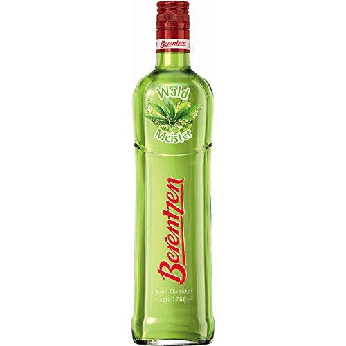 3 Flaschen Berentzen Waldmeister a 0,7L 15% Vol. grün