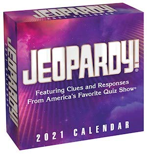 BUY 1 2021 JEOPARDY DESK CALENDAR AND GET 2 FREE YEAR PLANNERS (TWENTY FIVE DOLLAR VALUE)- YOU CAN ALSO ORDER A CALENDAR PLANNER 2019-20