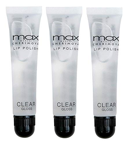 Cherimoya MAX Makeup Clear Lip Polish bulk (3 Pieces)