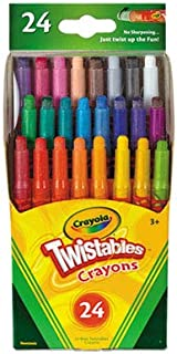 Twistables Mini Crayons 24 Colors/Pack (3 Pack)