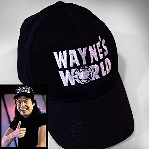 Wayne's World Hat - wayne and garth costume, embroidered, retro movie, 90s halloween, replica, cult classic